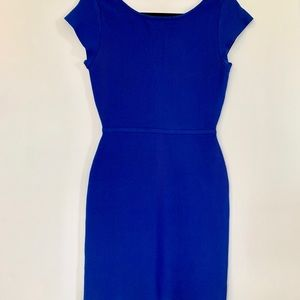 Blue body con dress from BCBG